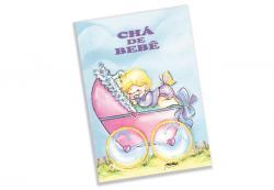 CONVITE CHA DE BEBE BABY AZ PT/10UN